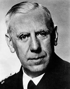Wilhelm Canaris – Chef de l'Abwehr, service de renseignement de l'armée allemande.