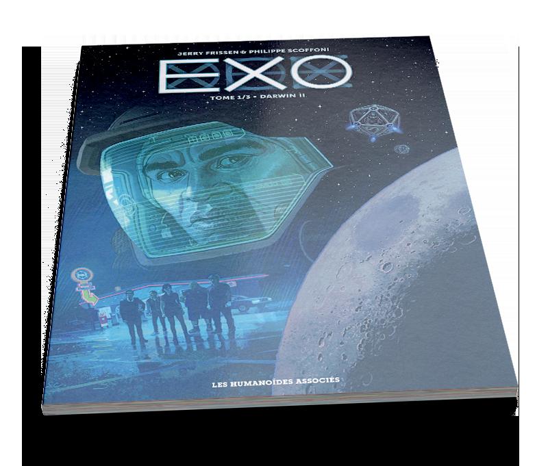Exo – Darwin II – © Éditions Les Humanoïdes Associés, 2016 – © Jerry Frissen et Philippe Scoffoni, 2016