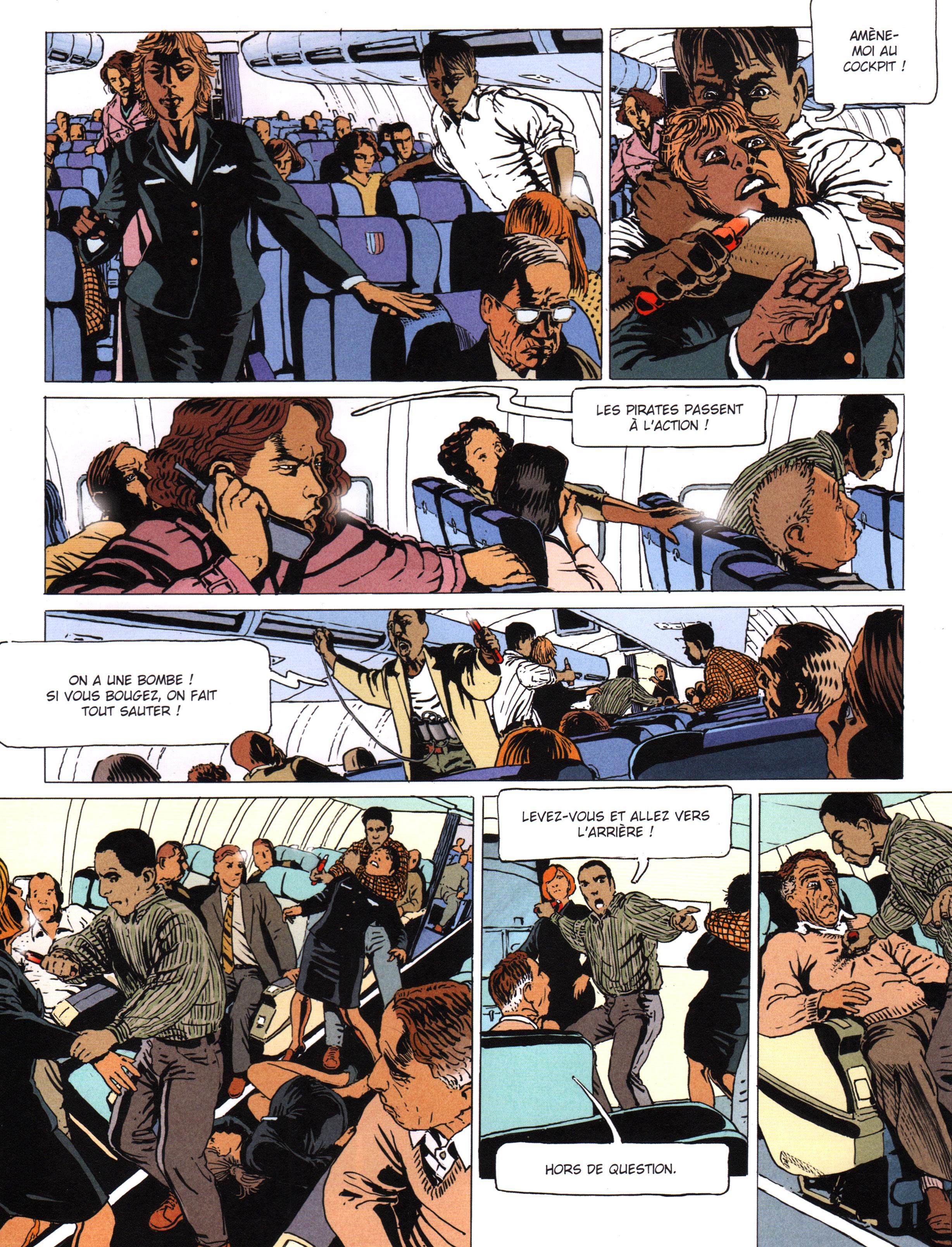 Le Prince des ténèbres 2/3 - 11 septembre 2001 : Al-Qaïda attaque l'Amérique – © Éditions Delcourt, 2017 – © Scénario : Fred Duval et Jean-Pierre Pécau assistés de Fred Blanchard, 2017 – © Dessin : Igor Kordey, 2017 – © Couverture Nicolas Siner et Fred Blanchard, 2017