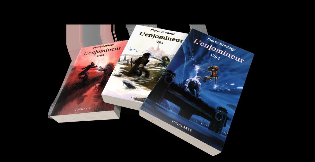L'Enjomineur, Pierre Bordage, Éditions L'Atalante