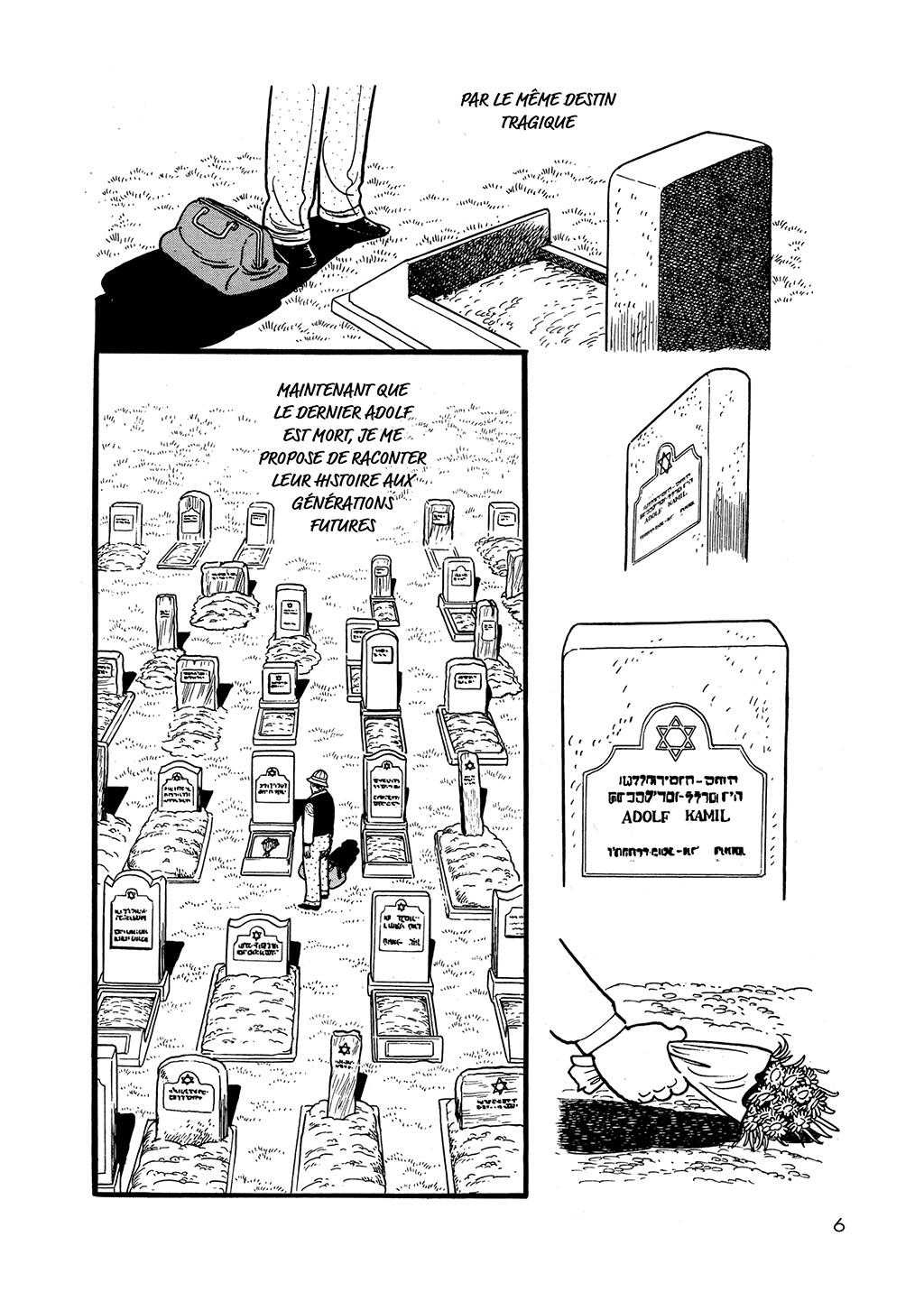 L'Histoire des 3 Adolf – Tome 1 – Osamu Tezuka – © Éditions Delcourt/Tonkam, 2018 – © ADOLF NI TSUGU – © 2018 by TEZUKA PRODUCTIONS.