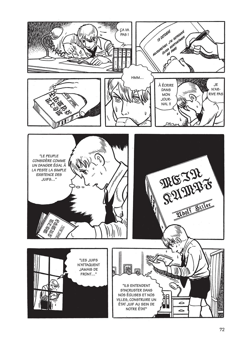 L'Histoire des 3 Adolf – Tome 2 – Osamu Tezuka – © Éditions Delcourt/Tonkam, 2018 – © ADOLF NI TSUGU – © 2018 by TEZUKA PRODUCTIONS.
