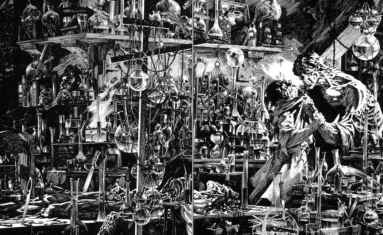 Frankenstein – Copyright Bernie Wrightson