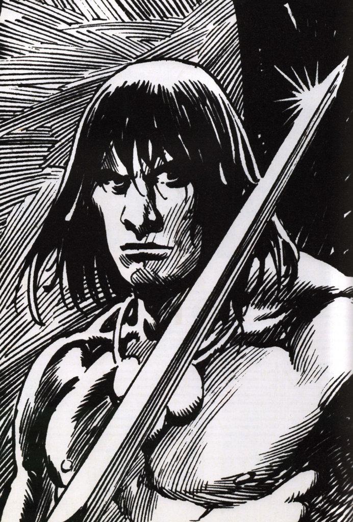 Savage Sword of Conan #12 – John Buscema – 1977 – Big John Buscema – © Éditions Urban Books, 2017 – © Éditions Déesse, 2017