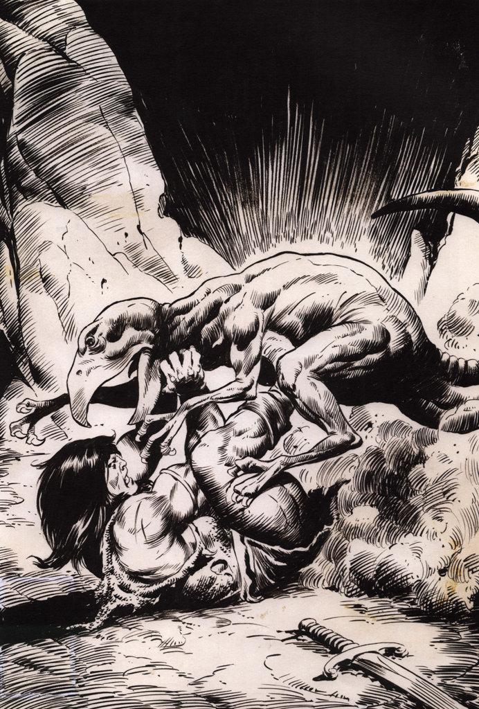 Conan the Barbarian #95 – John Buscema – 1979 – Big John Buscema – © Éditions Urban Books, 2017 – © Éditions Déesse, 2017