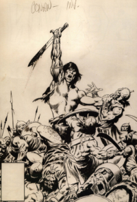 Conan the Barbarian #171 – John Buscema – 1985 – Big John Buscema – © Éditions Urban Books, 2017 – © Éditions Déesse, 2017