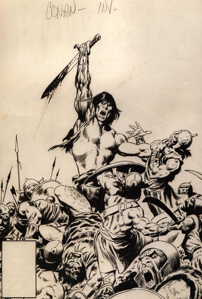 Conan the Barbarian #171 – John Buscema – 1985 – Big John Buscema – © Éditions Urban Books, 2017 – © Éditions Déesse, 2017
