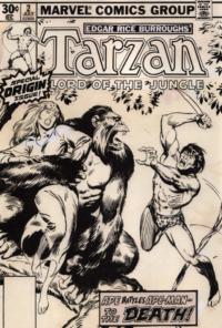 Tarzan #2 – John Buscema – 1977 – Big John Buscema – © Éditions Urban Books, 2017 – © Éditions Déesse, 2017
