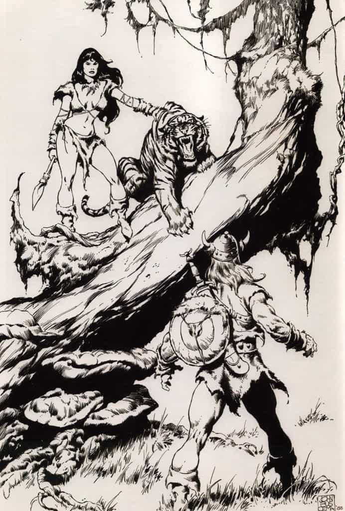 WFCBA Portfolio (Éditions Déesse) – John Buscema – 1983 – Big John Buscema – © Éditions Urban Books, 2017 – © Éditions Déesse, 2017