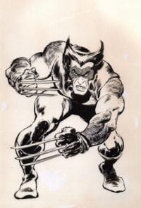 Logo de la série Wolverine de 1988 – John Buscema – Big John Buscema – © Éditions Urban Books, 2017 – © Éditions Déesse, 2017
