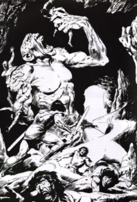 Savage Sword of Conan #58 – John Buscema – 1980 – Big John Buscema – © Éditions Urban Books, 2017 – © Éditions Déesse, 2017