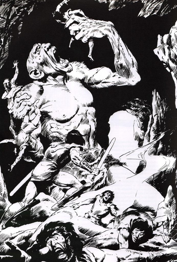Savage Sword of Conan #58 – John Buscema – 1980 – Big John Buscema – © Éditions Urban Books, 2017 – © Éditions Déesse, 2017
