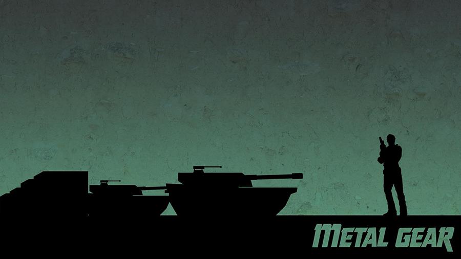 Metal Gear — © Hideo Kojima 1987 — © Konami 1987