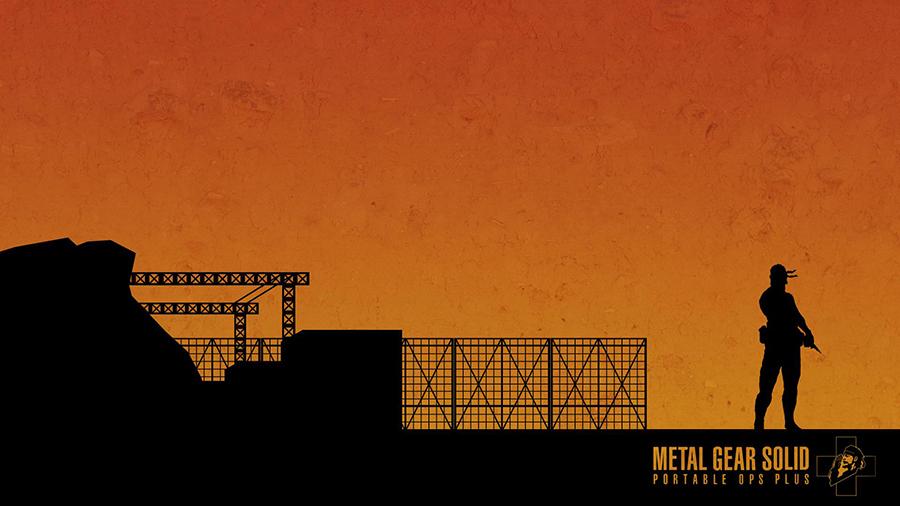 Metal Gear Solid : Portable Ops Plus — © Masahiro Yamamoto et Hideo Kojima 2007 — © Konami2007