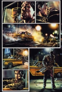 Before Watchmen: Rorschach — Lee Bermejo inside: En terrain obscur — Lee Bermejo — © Éditions Urban Comics, 2019 — © DC Comics, 2012 — © Brian Azzarello, 2012 — © Lee Bermejo, 2012