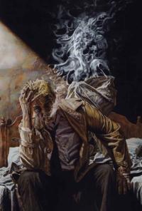 Hellblazer — Hellblazer #225 — Illustration de couverture — Lee Bermejo inside: En terrain obscur — Lee Bermejo — © Éditions Urban Comics, 2019 — © DC Comics, 2006 — © Lee Bermejo, 2006