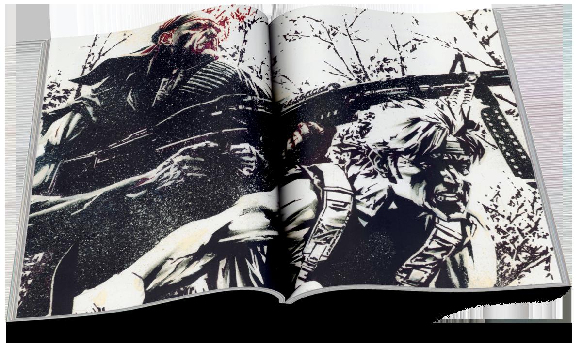 Batman/Deathblow — Lee Bermejo inside: En terrain obscur — Lee Bermejo — © Éditions Urban Comics, 2019 — © DC Comics, 2002 — © Brian Azzarello, 2002 — © Lee Bermejo, 2002