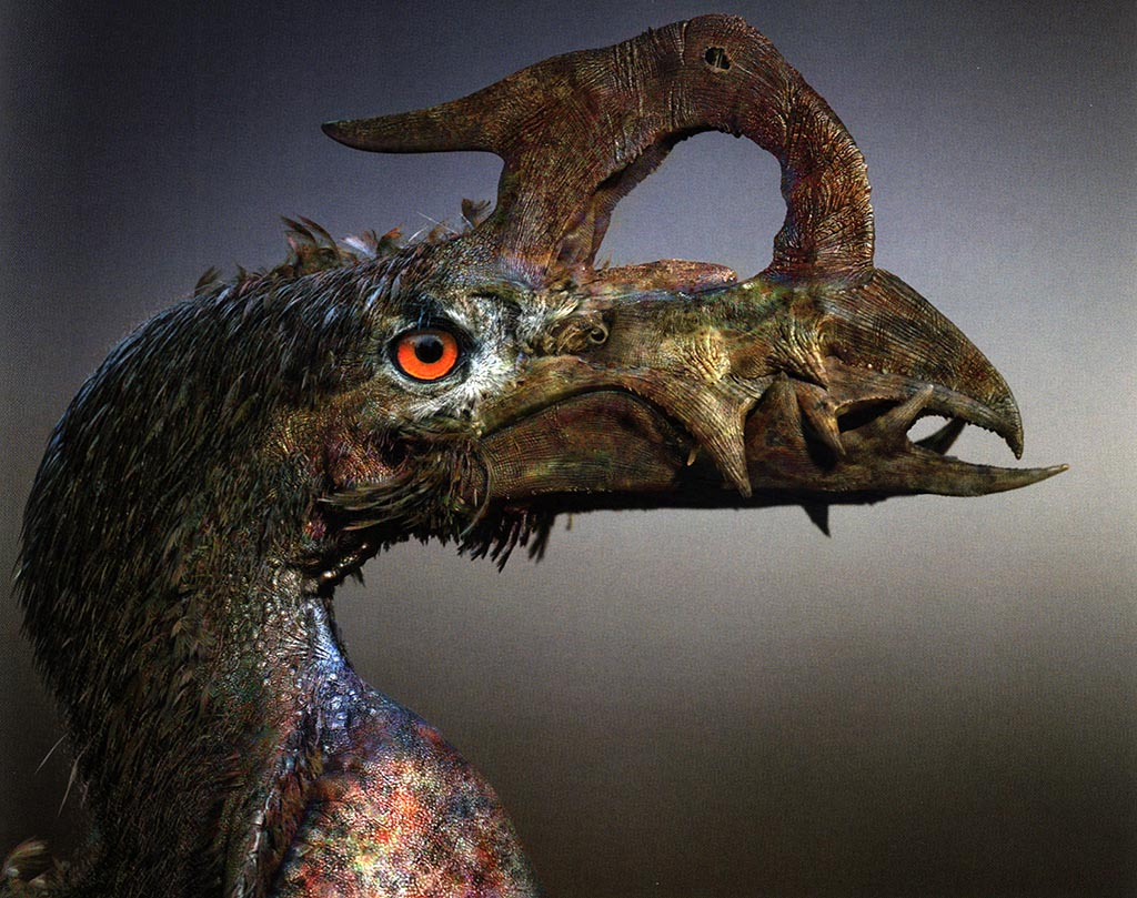 Necropteryx gigeri, les ailes de la mort — Demain, les animaux du futur — © Marc Boulay et Sébastien Steyer, 2015 — © Éditions Belin, 2015