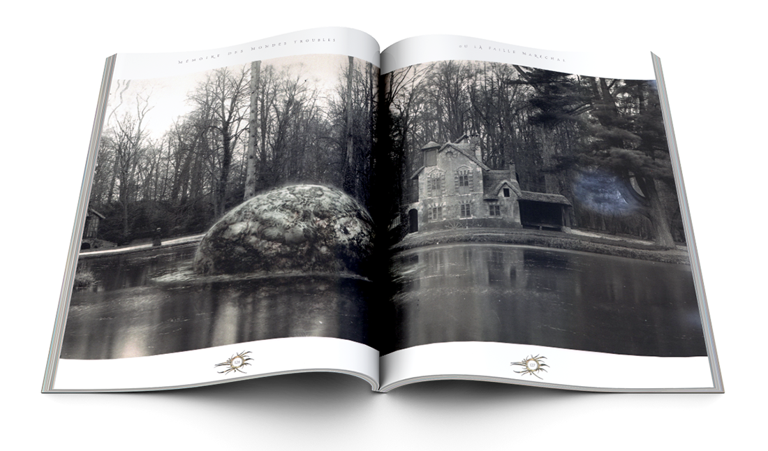 Gotland — © Éditions Le Bélial', 2016 — © Illustrations et textes Nicolas Fructus, 2016 — © Texte Thomas Day, 2016 — © Mise en scène graphique Franck Achard, 2016