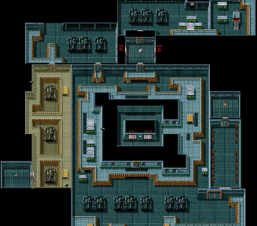 Metal Gear 2 : Solid Snake — Console MSX2 — © Hideo Kojima 1990 — © Konami 1990