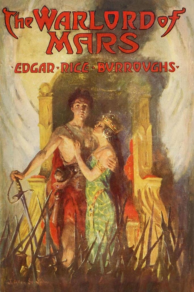 The Warlord of Mars — © Edgar Rice Burroughs, 1919 — © Éditions A. C .McClurg & Co., 1919 — © Illustration de l'édition originale J. Allen St. John, 1919