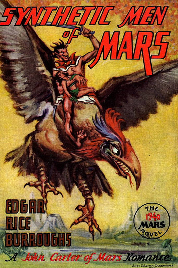 Synthetic Men of Mars — © Edgar Rice Burroughs, 1940 — © Éditions Edgar Rice Burroughs, Inc. Tarzana, 1940 — © Illustration de l'édition originale John Coleman Burroughs, 1940