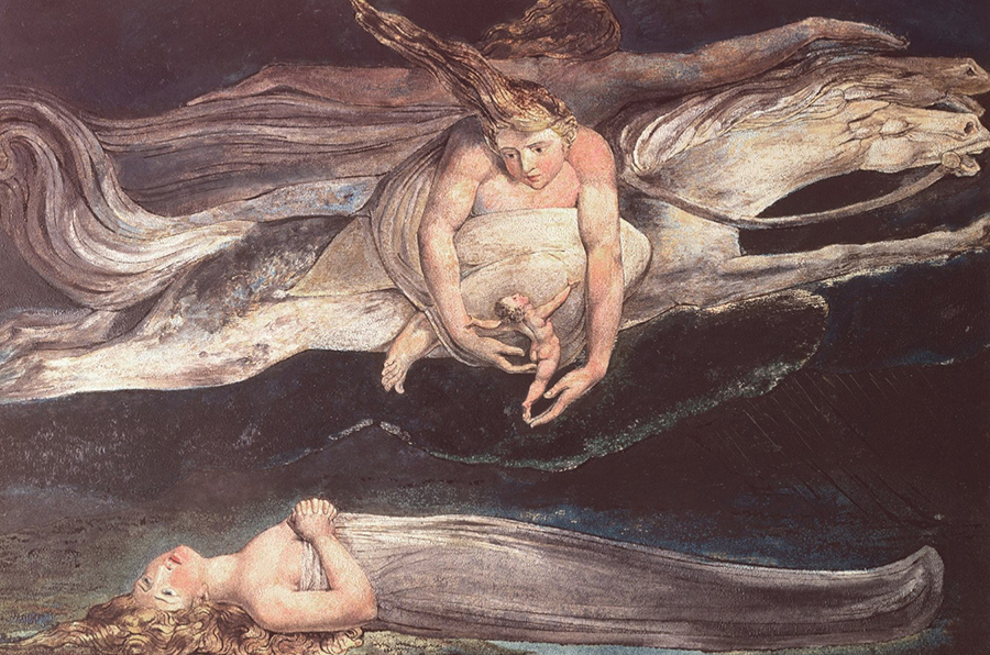 Dommage — William Blake — 1795