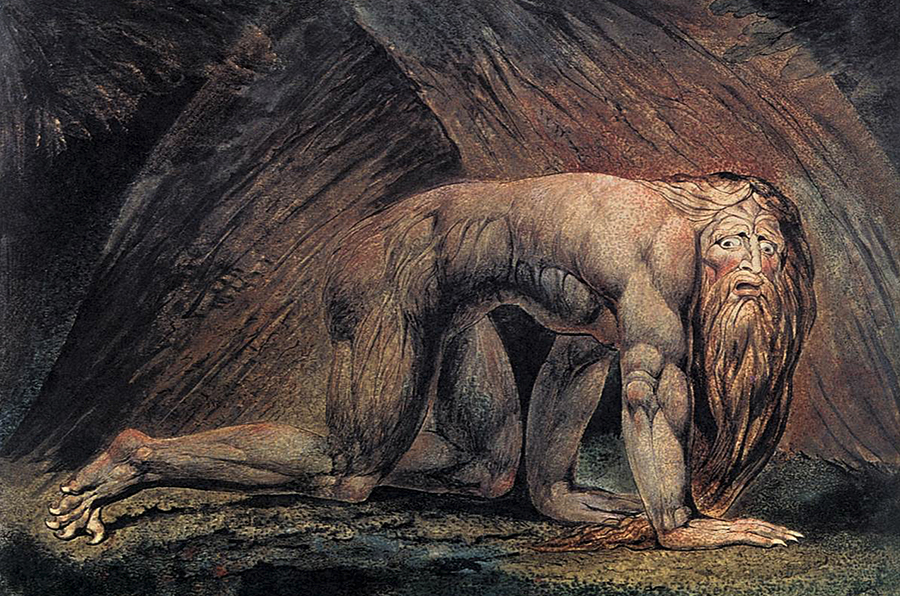 Nabuchodonosor — William Blake — 1795