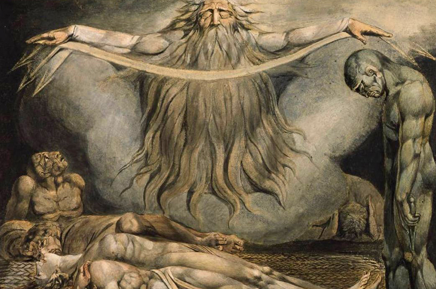 La Maison des morts — William Blake — 1795-1805