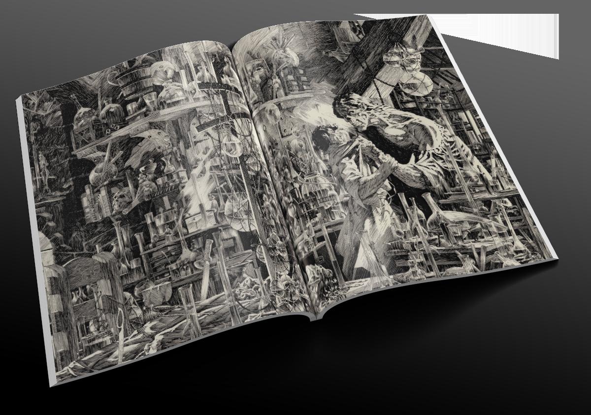 Histoire illustrée de l'horreur — Sous la direction de Stephen Jones — © Elephant Book Company Limited, 2015 — © Éditions Le Pré aux Clercs, 2015 — © Les auteurs et ayants droit
