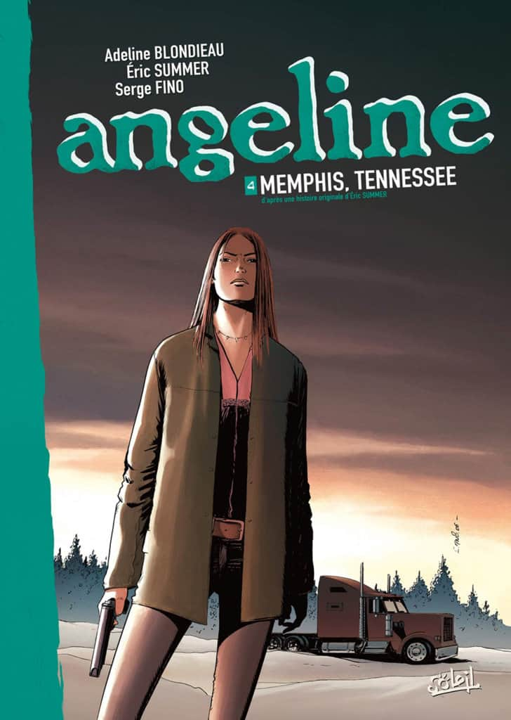 Angeline – Tome4: Memphis, Tennessee — Adeline Blondieau — Éric Summer — Serge Fino — © Éditions Soleil2007 — © Adeline Blondieau2007 — © Éric Summer2007 — © Serge Fino2007