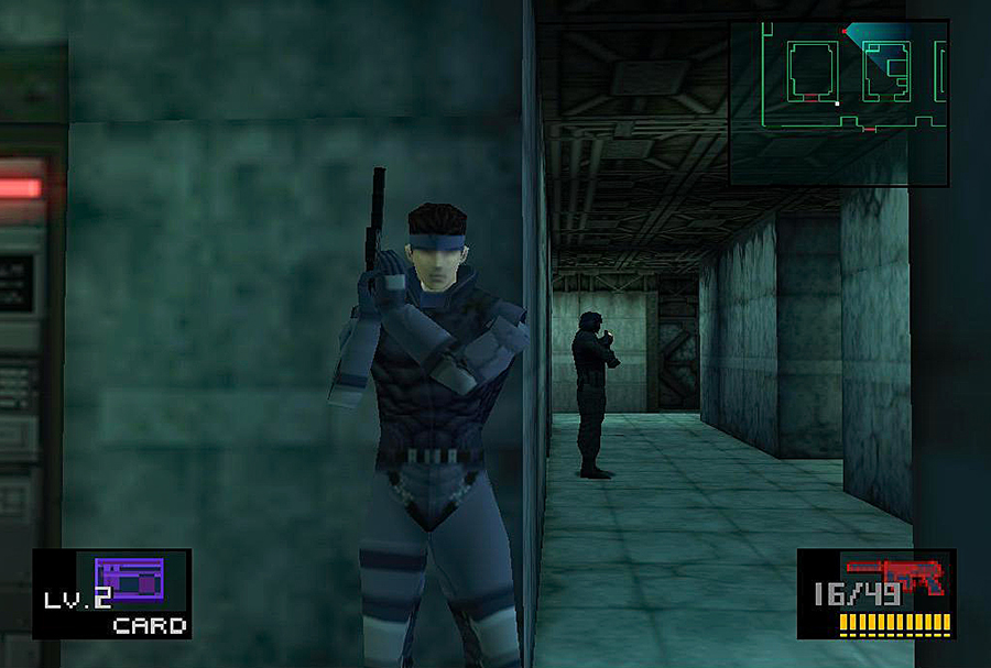 Metal Gear Solid — PlayStation — © Hideo Kojima 1998 — © Konami 1998