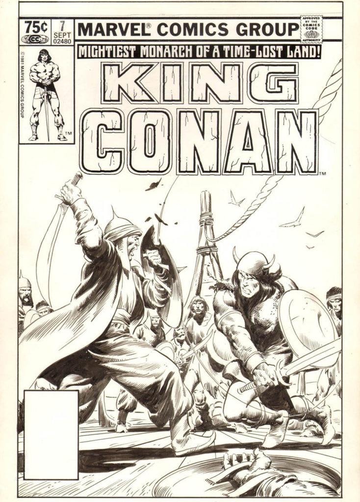 King Conan — Conan and Swordplay — © Éditions Marvel Comics Group, 1981 — © Robert Ervin Howard et John Buscema