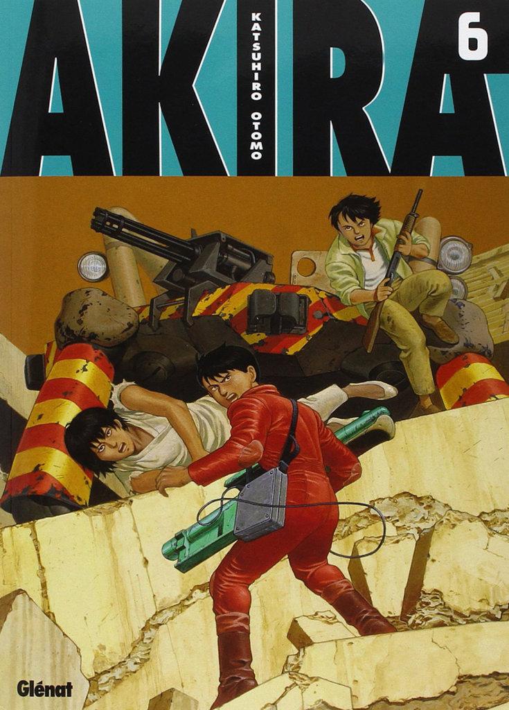 Akira — Tome6 — © Éditions Glénat, 2000 — © Katsuhiro Otomo, 1982