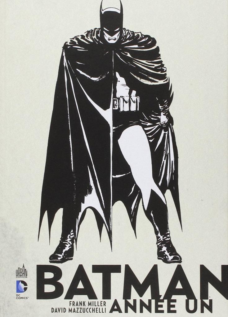 Batman Année Un — © Éditions Urban Comics, 2012 — © Frank Miller et David Mazzucchelli, 1987