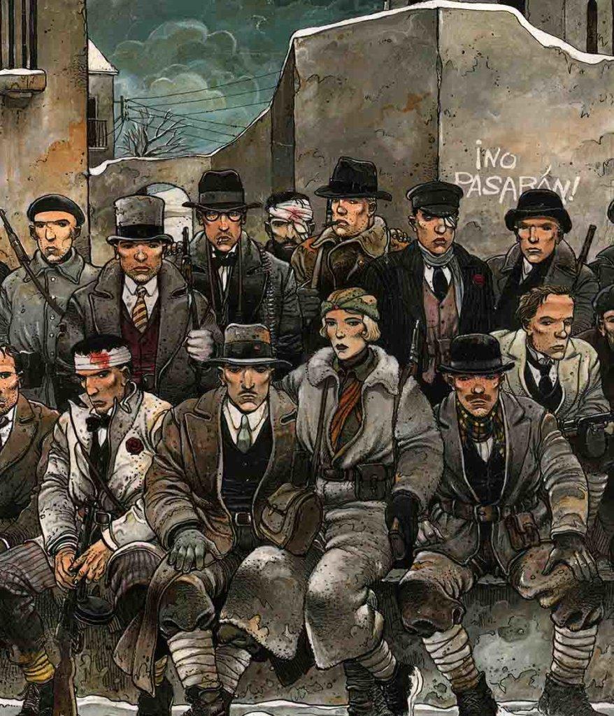 Les Phalanges de l'Ordre Noir — Scénario © Pierre Christin1979 — Dessin © Enki Bilal1979 — © Éditions Dargaud1979