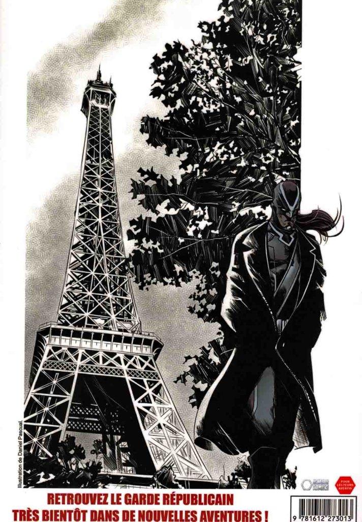 Le Garde Républicain — © Éditions Hexagon Comics — © Mosaïc Multimédia — Scénario © Thierry Mornet alias Terry Stillborn — Dessin © Daniel Pascual