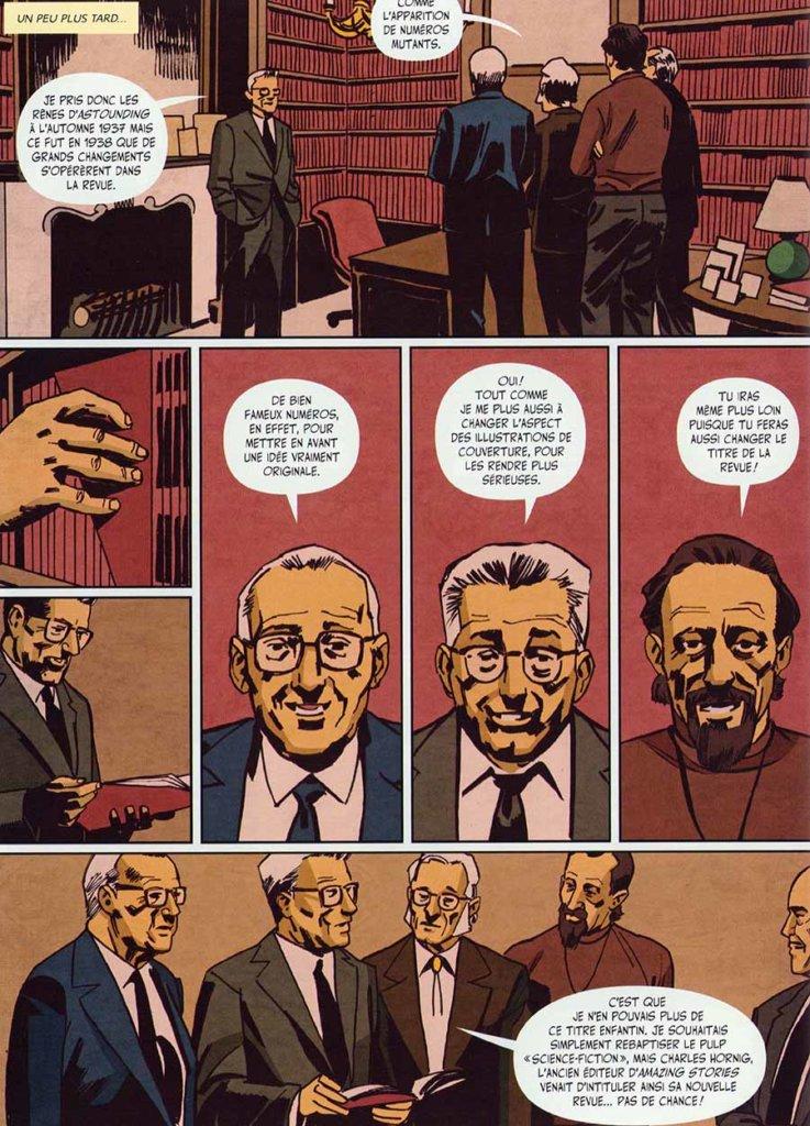 Histoire de la science-fiction en bande dessinée, Xavier Dollo et Djibril Morissette-Phan, Éditions Critic et Éditions Les Humanoïdes Associés