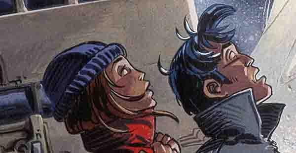 Valérian Tome 12 Les Foudres d'Hypsis, illustration de couverture
